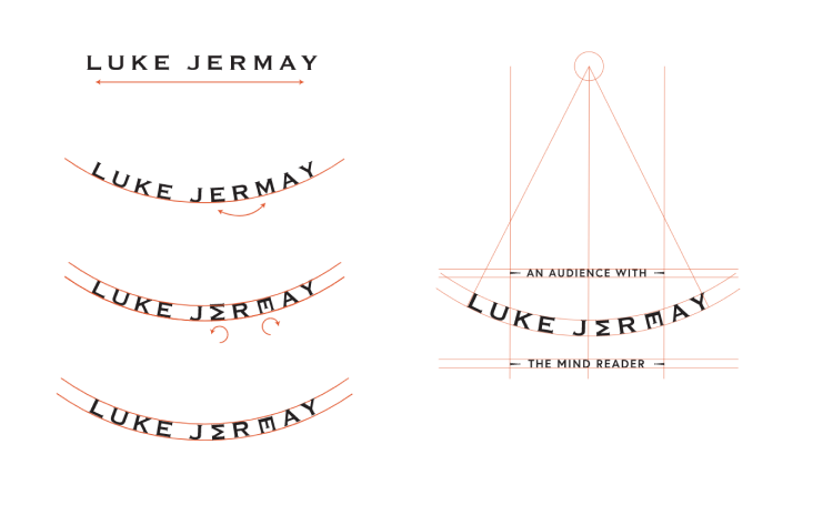 Luke Jermay logos and spacing