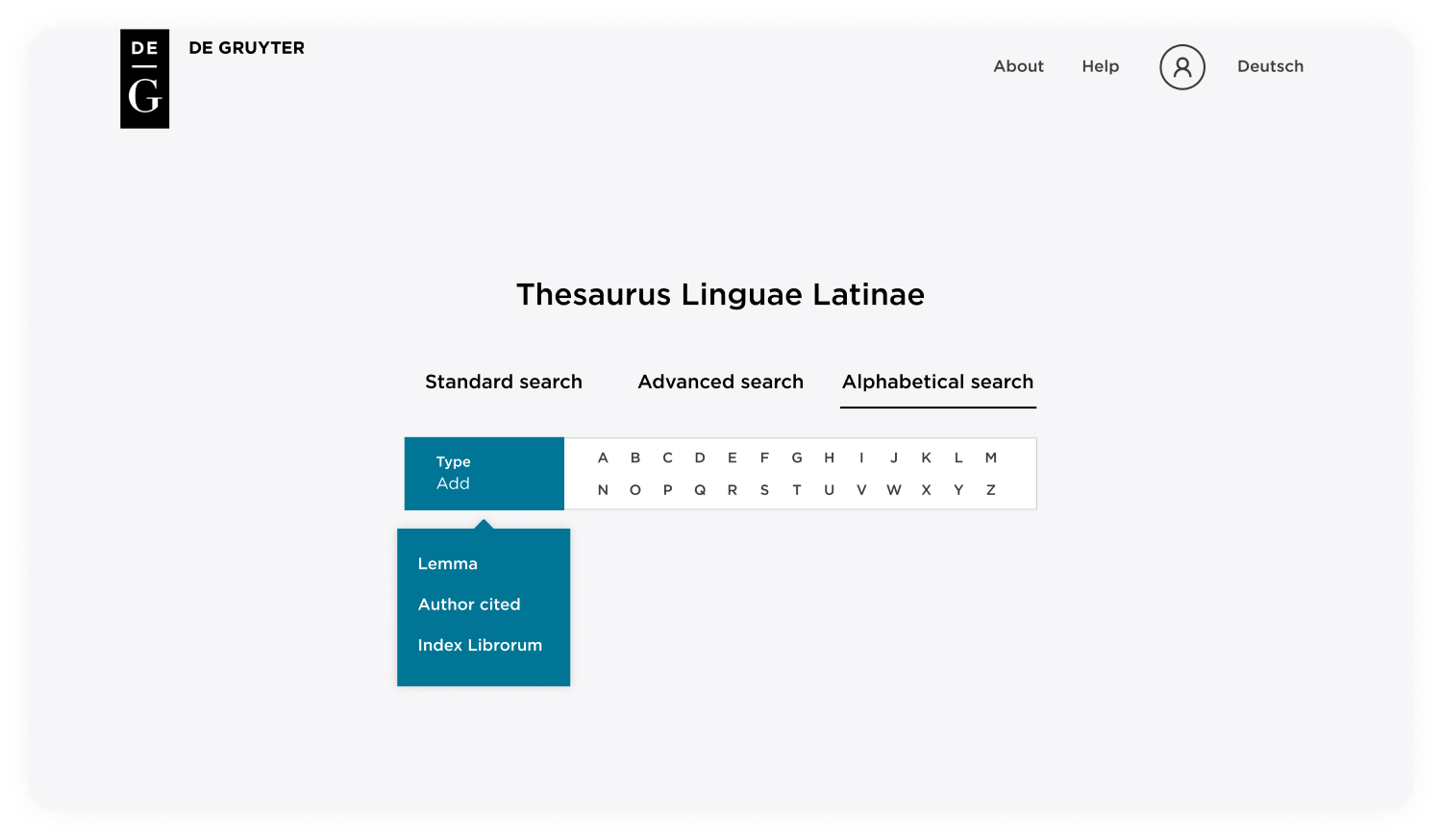 We designed in multi-layered ways to conduct a search and made these options accessible from every page.