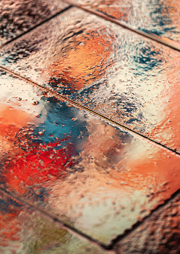 Glossy pavement by Andrew Aitch - Challenger brand for Photography Business