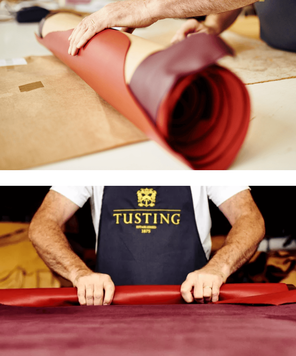 Tusting - Challenger brand for Leather Goods - how we researched their company to gain opportunities for CRO